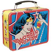 Wonder Woman Vintage Comic Large Tin Tote