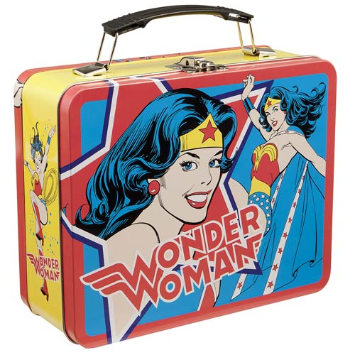 Wonder Woman Vintage Comic Large Tin Tote