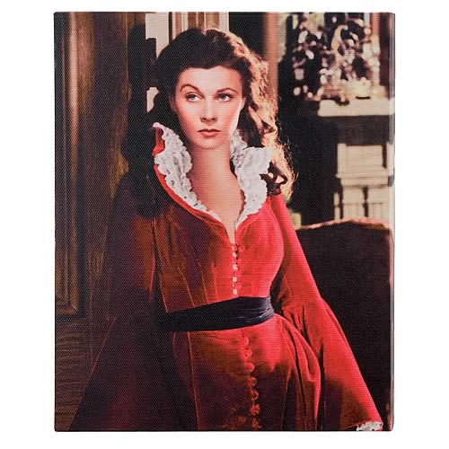 Gone with the Wind Scarlett Streched Canvas Print