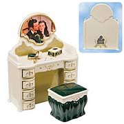 Gone with the Wind Vanity Salt and Pepper Shaker Set