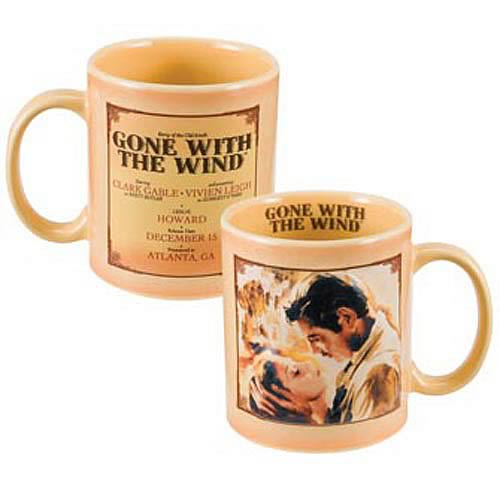 Gone with the Wind Movie Poster Sculpted Mug