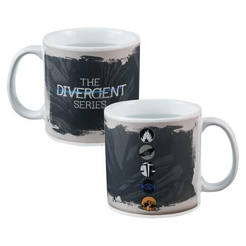 Divergent 20 oz. Heat-Reactive Ceramic Mug