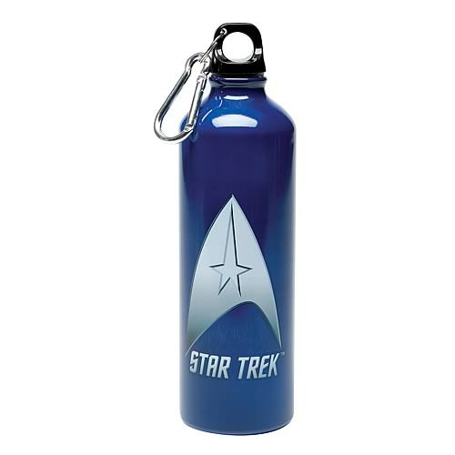 Star Trek Delta Shield Stainless Steel Water Bottle