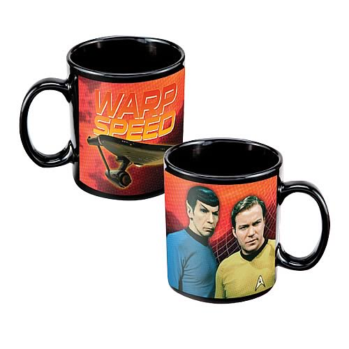 Star Trek Warp Speed Mug