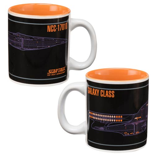 Star Trek Next Generation NCC-1701D 12 oz. Ceramic Mug