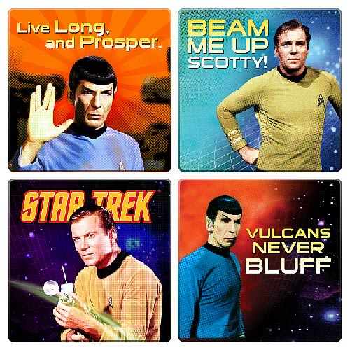 Star Trek Coaster 4-Pack