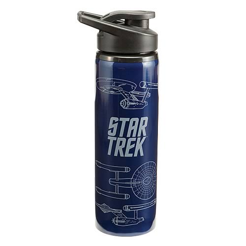 Star Trek U.S.S. Enterprise Stainless Steel Water Bottle
