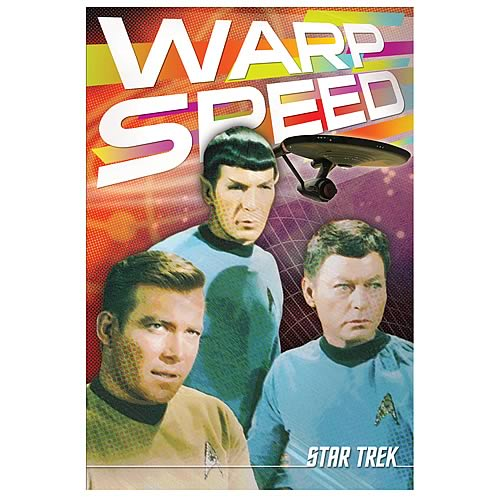 Star Trek Warp Speed Tin Sign