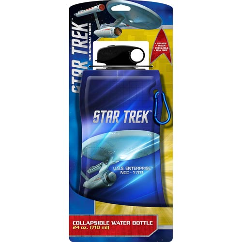 Star Trek 24 oz. Collapsible Water Bottle