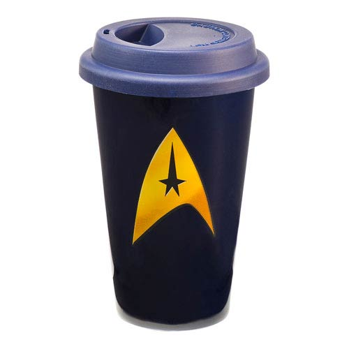 Star Trek Classic 12 oz. Double Wall Ceramic Travel Mug