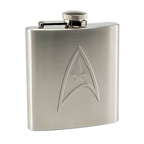 Star Trek Delta Shield Stainless Steel Flask