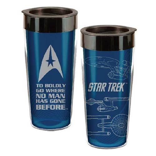 Star Trek 16 oz. Plastic Travel Mug