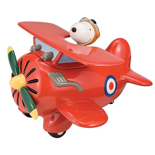 Peanuts Flying Ace Cookie Jar