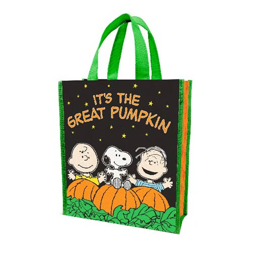 Peanuts It's The Great Pumpkin Small Recycled Shopper Tote