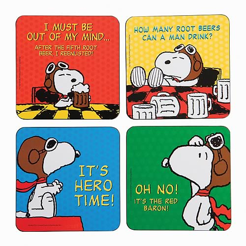 Peanuts Coaster 4-Pack