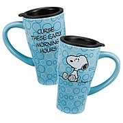 Peanuts Early Morning Hours Travel Mug