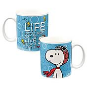 Peanuts Snoopy Live it Up Mug