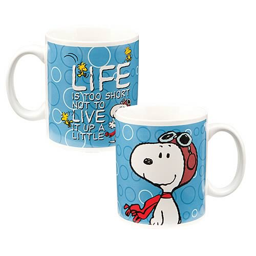 Peanuts Snoopy Live it Up Mug