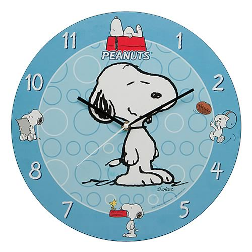 Peanuts Snoopy Wall Clock