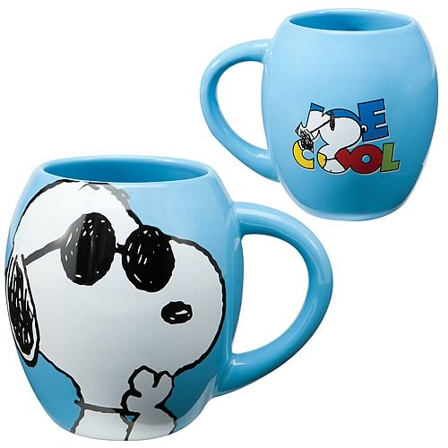 Peanuts Snoopy Joe Cool Light Blue Mug