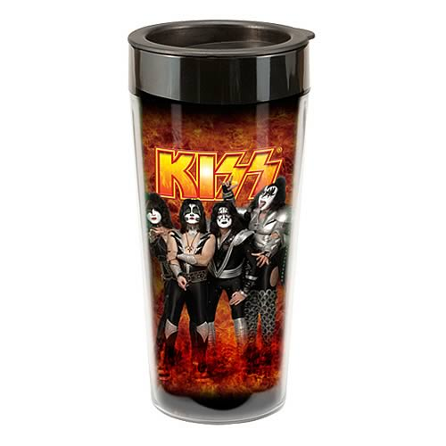 KISS Plastic Travel Mug