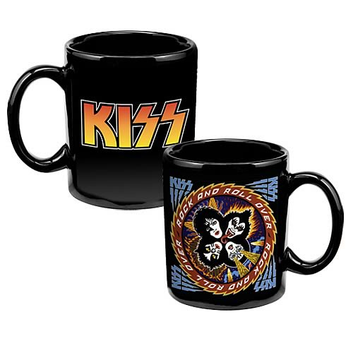 KISS Rock and Roll Over Mug