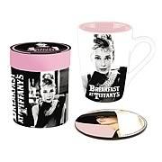 Breakfast at Tiffany's Mug and Coaster Set