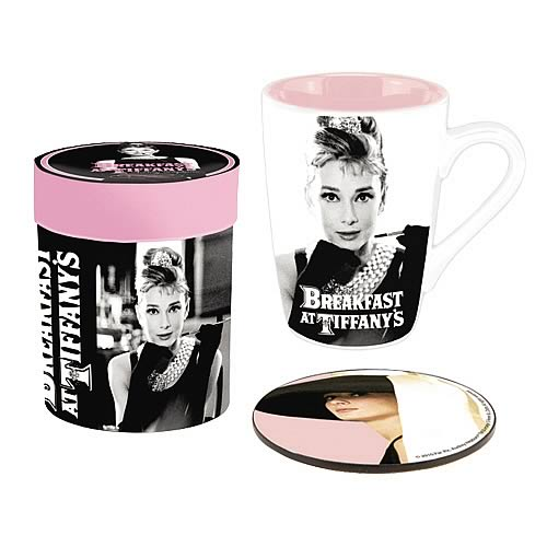 Breakfast at Tiffany's Mug and Coaster Set