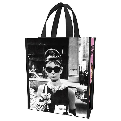Breakfast at Tiffany's Small Reusable Shopping Tote