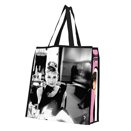 Breakfast at Tiffany's Resuable Shopping Tote