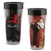 Bruce Lee Plastic Travel Mug