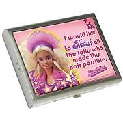 Barbie Metal ID Case