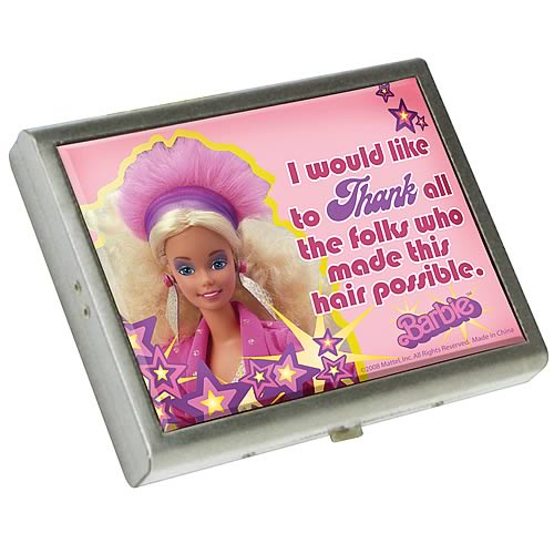 Barbie Metal ID Case