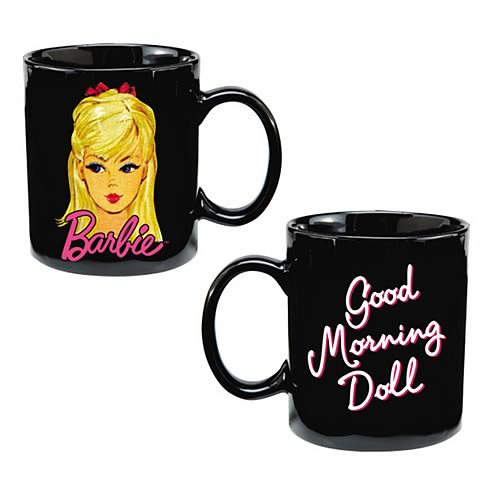Barbie Good Morning Doll Ceramic Mug