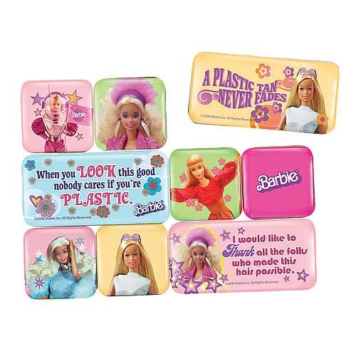 Barbie Magnet 9-Pack