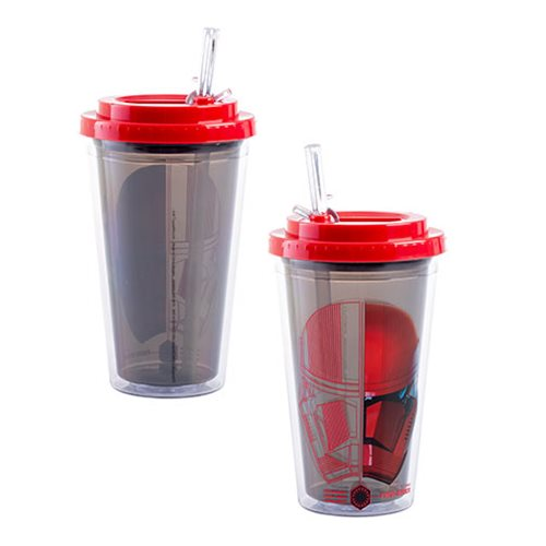Star Wars: Rise of Skywalker 16 oz. Flip Straw Acrylic Cup