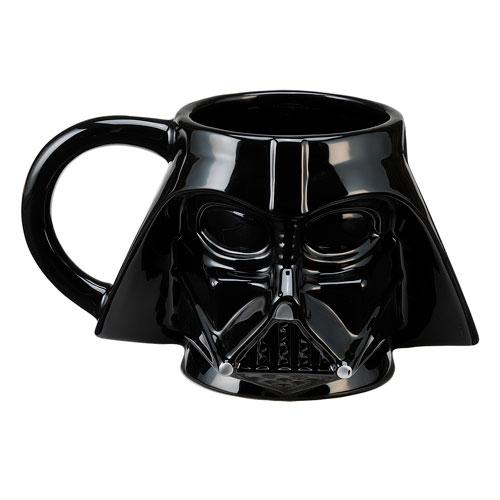 Star Wars Darth Vader Head Sculpted Ceramic Mug