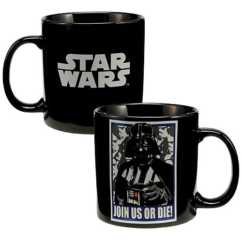Star Wars Darth Vader Join Us or Die Mug