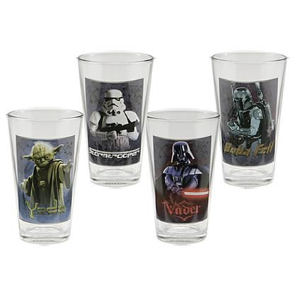 Star Wars Glasses 4-Pack