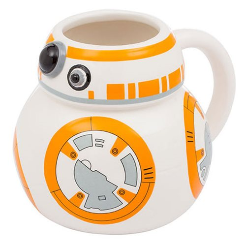 Star Wars The Force Awakens Bb 8 Ceramic Sculpted Mug