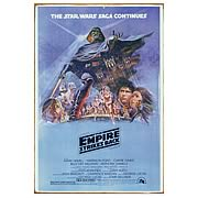 Star Wars The Empire Strikes Back Heavy-Gauge Metal Sign