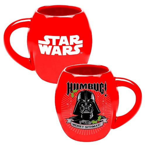 Star Wars Darth Vader Humbug 18 oz. Ceramic Oval Mug