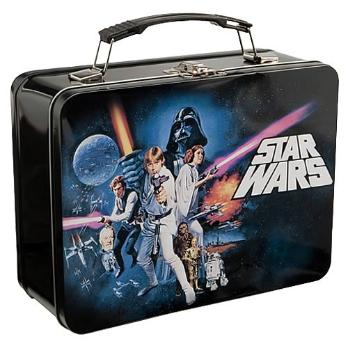 Star Wars Episode 4 Large Square Tin Tote