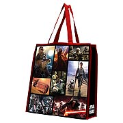 Star Wars Episode VII The Force Awakens Large Recycled Shopper Tote