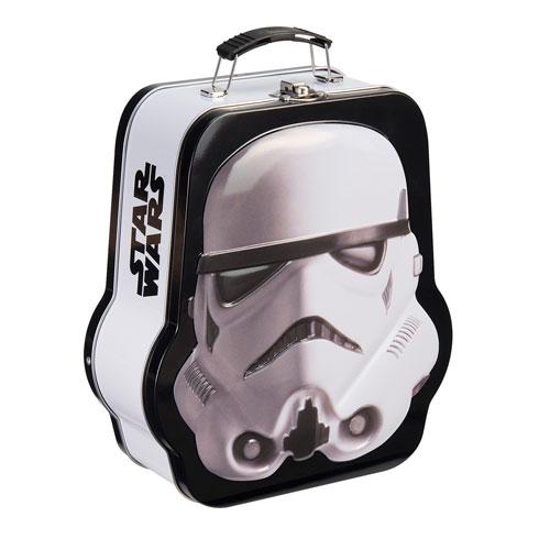 Star Wars Stormtrooper Shaped Tin Tote