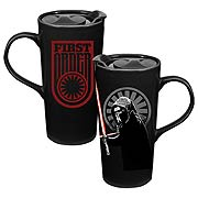 Star Wars Episode VII The Force Awakens Heat Reactive Ceramic Travel Mug