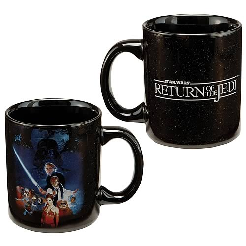 Star Wars Return of the Jedi Movie Poster Ceramic Mug