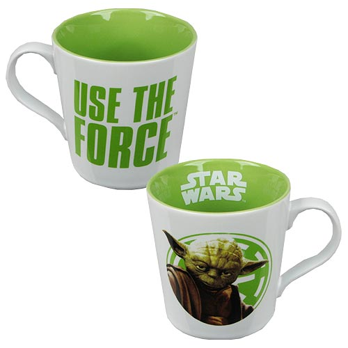 Star Wars Yoda Use the Force 12 oz. Ceramic Mug