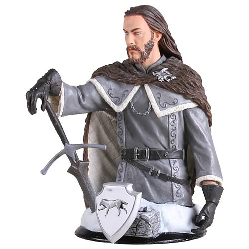 A Song of Ice and Fire A Game of Thrones Eddard Stark Bust