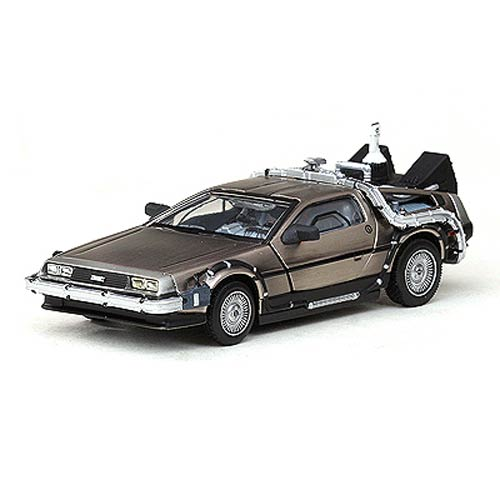 Back to the Future Part II DeLorean 1:43 Die-Cast Vehicle